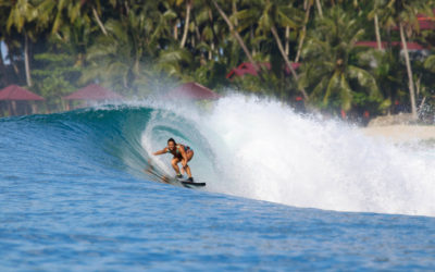 Nias: surfers' heaven of barrels